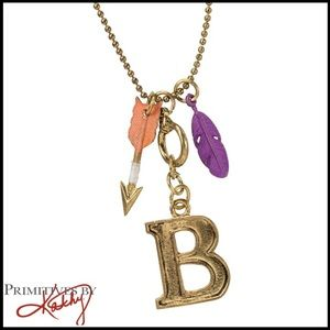 """Primitives By Kathy Initial """"B"""" Charm Necklace"""